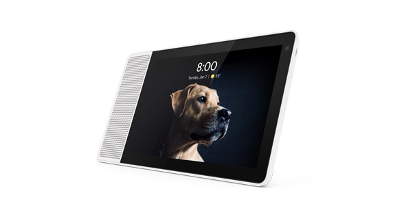 Lenovo Smart Display voice-activated smart home device