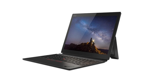 Lenovo ThinkPad X1 Tablet with ThinkPad Pen Pro, front angle view