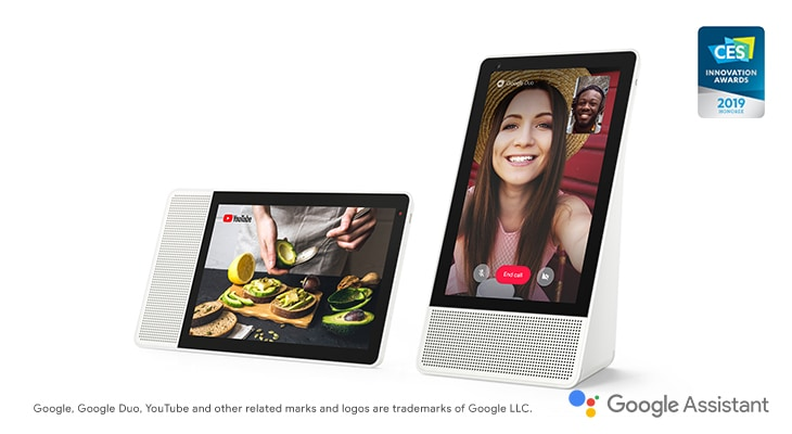Lenovo Smart Display avec l'Assistant Google