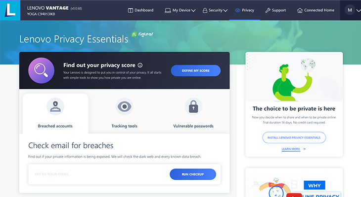 Lenovo Privacy Essentials by FigLeaf
