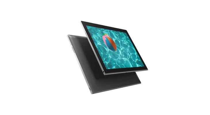 Lenovo Miix 630 2-în-1 în modul laptop, cu stilou