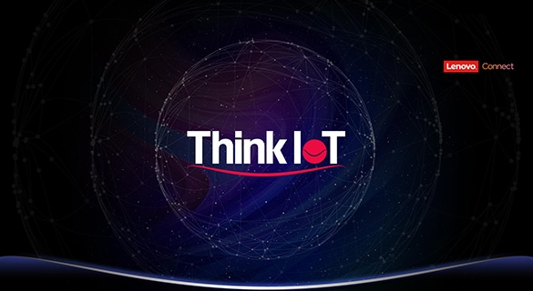 Logo de Lenovo Connect ThinkIoT