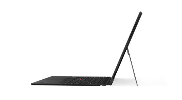 Lenovo ThinkPad X1 Tablet with ThinkPad Pen Pro, left side view