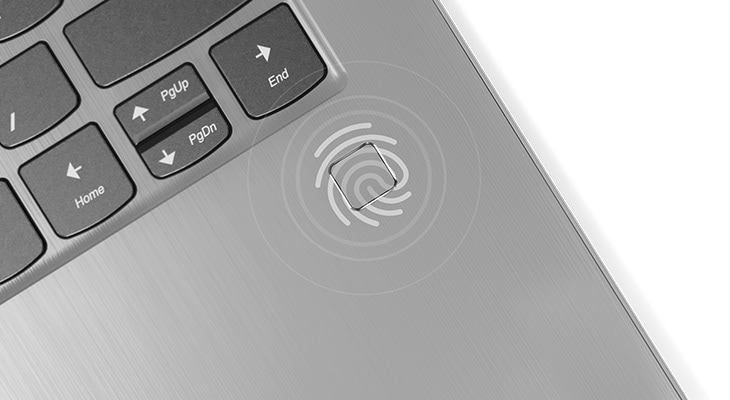Lenovo Yoga 530 2-in-1 laptop fingerprint reader
