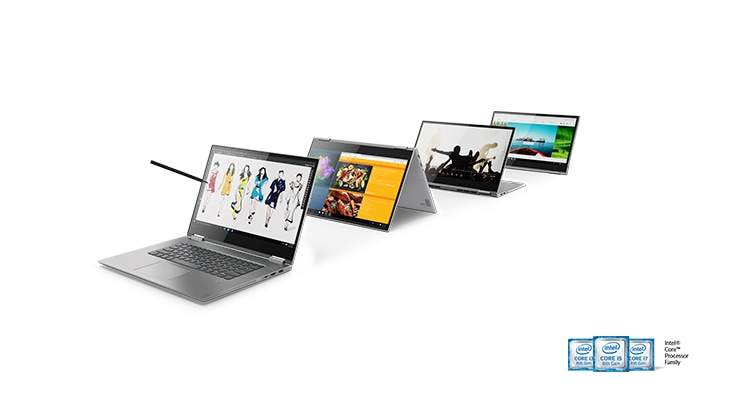Lenovo Yoga 730 2-in-1 laptop, pogled