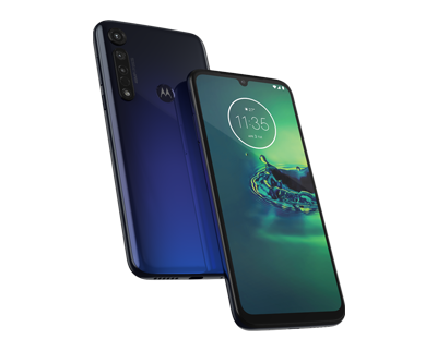 moto g8 plus Front View