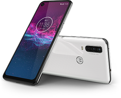 motorola one action Front View