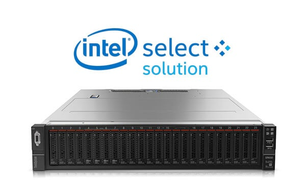 ThinkSystem SR650 Intel Select