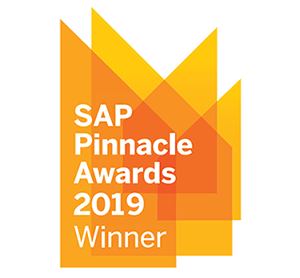 Lauréat SAP Pinnacle Awards 2019