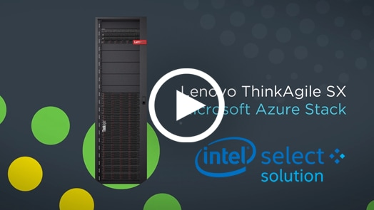 Solution ThinkAgile SXM pour Azure