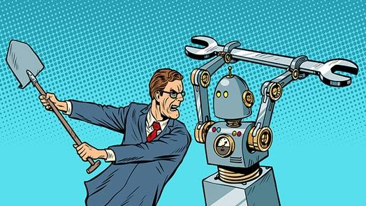 Humans vs. machines