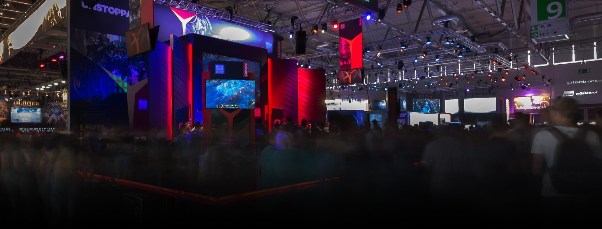 Lenovo at Gamescom