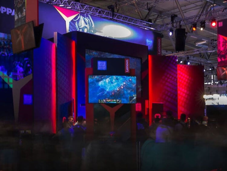Lenovo Legion op Gamescom