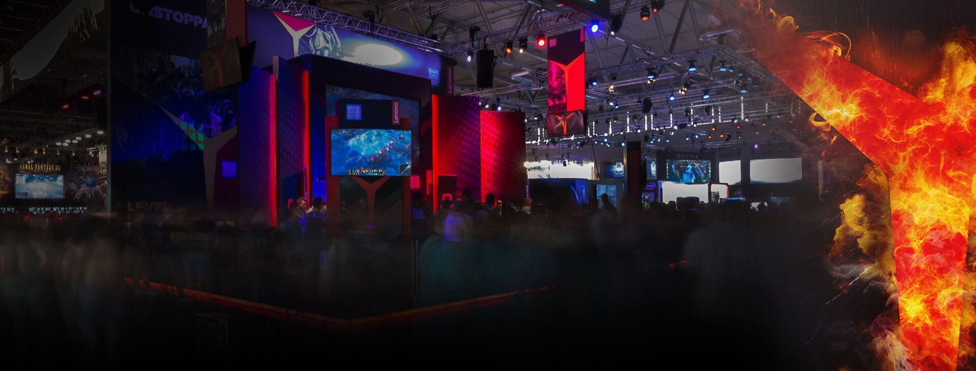 Lenovo Legion at Gamescom