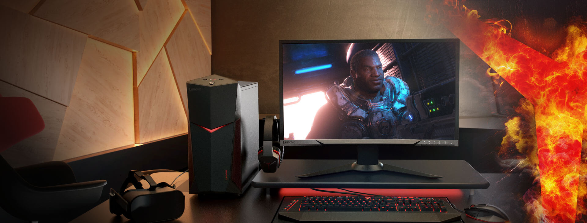 Игровой ПК Lenovo Legion Y520 Tower