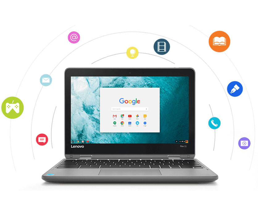 Lenovo Chromebooks | Seamless Google Integration | Lenovo US